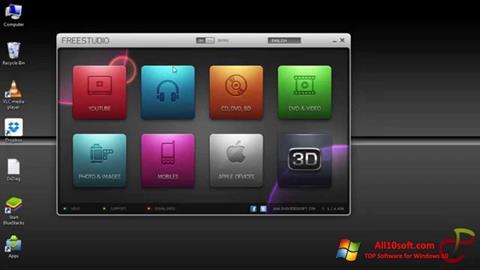 Скріншот Free Studio для Windows 10