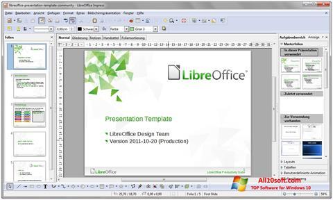 Скріншот LibreOffice для Windows 10