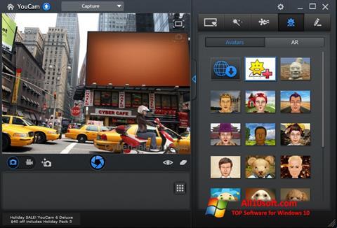 Скріншот CyberLink YouCam для Windows 10
