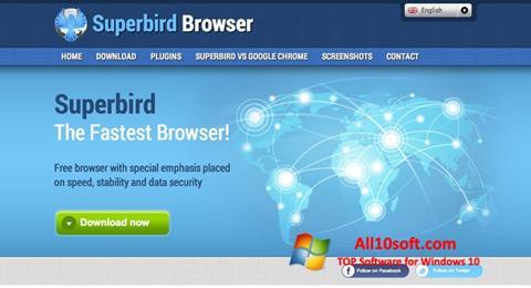 Скріншот Superbird для Windows 10