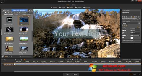 Скріншот Pinnacle Studio для Windows 10