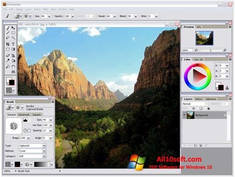 Скріншот Artweaver для Windows 10
